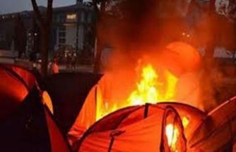 Gezi'de çadır yaktıran eski müdür yardımcısına yakalama kararı
