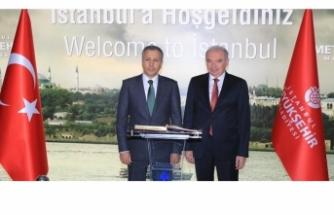 İstanbul Valisinden İBB'ye ziyaret