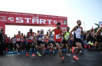 İstanbul Maratonu'nda rekor