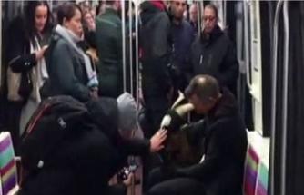 Keçiyi çaldı sonra metroya bindi