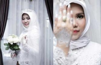 Milyonları üzen düğün fotoğrafı