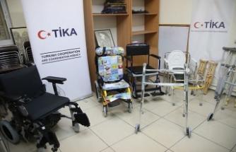 TİKA'dan Filistinli engellilere destek