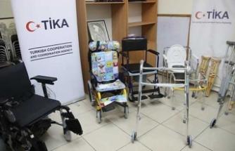 TİKA'dan Filistinli aileye dev destek