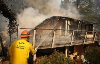 Yangınlarda ölenlerin sayısı 66'ya çıktı