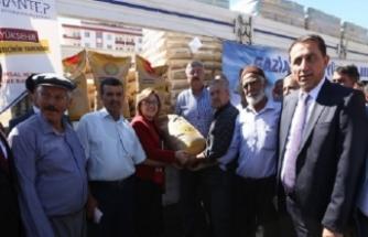 Büyükşehir Belediyesi'nden tarım ve hayvancılığa destek