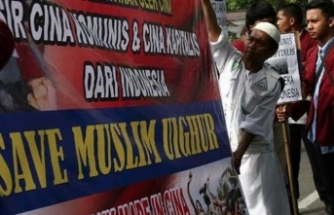 Endonezya'da Müslümanlara yönelik uygulamaları protesto edildi