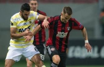 Fenerbahçe'den keyifsiz maç, tatsız skor