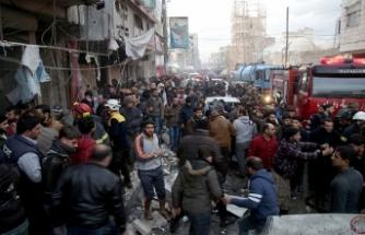 Fırat Kalkanı bölgesi bombalarla sarsıldı
