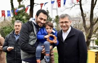 Hilmi Türkmen Nakkaştepe Millet Bahçesi'nde vatandaşlarla buluştu