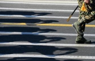 İran'da emekli askerlerden maaş protestosu