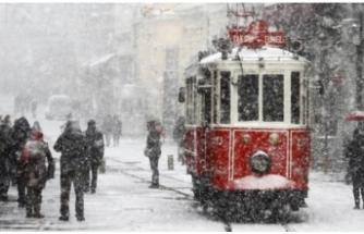 Meteoroloji'den İstanbul'a kar uyarısı geldi
