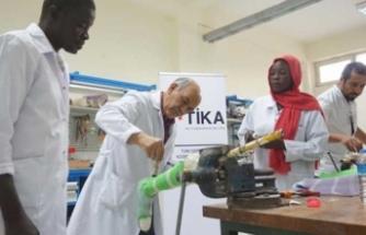 TİKA'dan Sudanlılara engelli rehabilitasyonu eğitimi