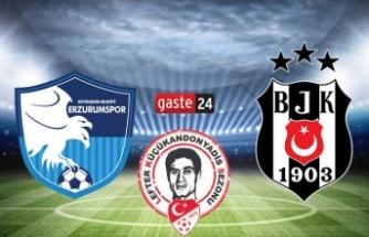 Beşiktaş'ta gözler Erzurumspor maçında