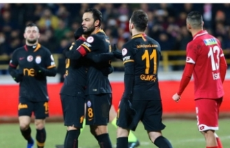 Galatasaray Bolu'dan avantajlı dönüyor