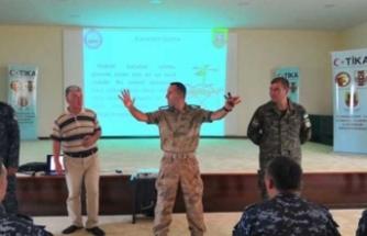 TİKA'dan emniyet personeline eğitim