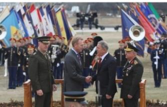 Bakan Akar ve Genelkurmay Başkanı Güler Pentagon'da... Böyle karşılandılar