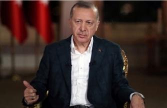 Cumhurbaşkanı Erdoğan'dan milli takım açıklaması