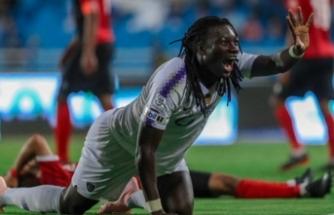 Gomis'in gol sevinci çocuğu korkuttu!