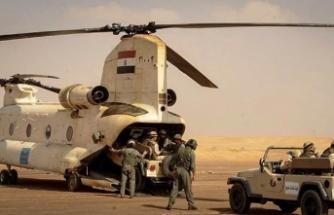 Mısır ordusundan Sina'da operasyon!