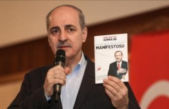 'Türkiye'nin her yerinde yüzde 50+1 almalıyız'