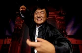Ünlü aktör Jackie Chan'in balmumu figürü sergiye açıldı