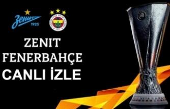 Zenit Fenerbahçe canlı izle - Zenit Fenerbahçe beIN Sports izle