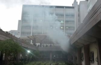Adana'da hastane yangını