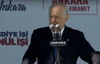Bahçeli: Seçim terör sevicilerle Türkiye sevdalıları arasında olacak