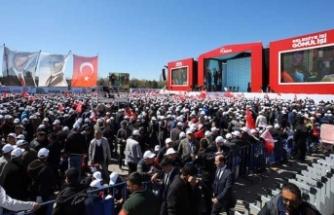 Cumhur İttifakı Ankara mitingi başladı