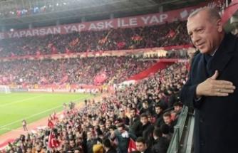 Eskişehir taraftarına Cumhurbaşkanı Erdoğan'dan müjde!