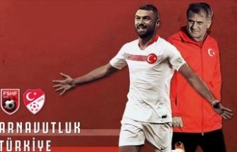 Milli heyecan başlıyor! İşte Arnavutluk-Türkiye maçı muhtemel 11'leri