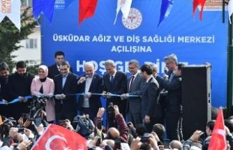'Üsküdar Ağız ve Diş Sağlığı Merkezi' törenle açıldı