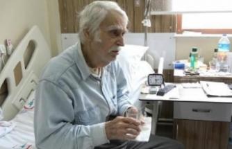 Eşref Kolçak'ın zor günleri! Gönüllüler refakat ediyor