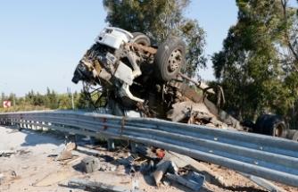 İzmir'de feci kaza! 1 ölü