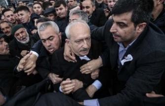 Kılıçdaroğlu'na saldırı! Tepkiler peş peşe geldi
