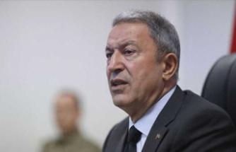 Milli Savunma Bakanı Akar: Ne kadar kalleş olduklarını gösterdiler