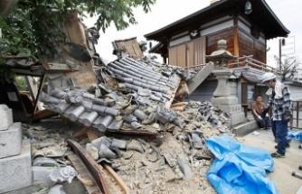 O ülke depremle sarsıldı!