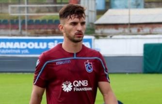 Trabzonsporlu futbolcu trafik kazası geçirdi