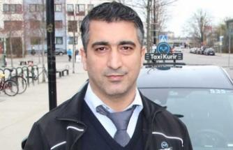 Türk taksici İsveç'te kahraman ilan edildi