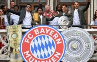 Bayern Münih şampiyonluklarını kutladı