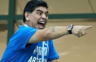 Dünyaca ünlü efsane futbolcu Diego Maradona tutuklandı!