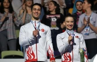 Milli cimnastikçilerden 7 madalya