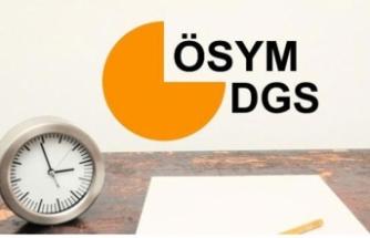 2019 DGS sınava giriş belgeleri erişime açıldı