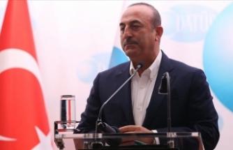 Dışişleri Bakanı Mevlüt Çavuşoğlu: Türkiye tüm mazlumların umudu