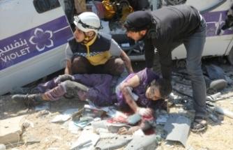 Esed rejimi İdlib'e saldırdı: Çok sayıda ölü ve yaralı var!