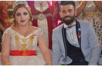 İstanbul'dan gelin gitti! Düğünde bir kilo altın takıldı…