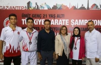 'Karatenin gençleri' Gaziantep'te buluşuyor