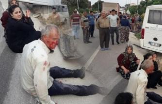 Çanakkale'de feci kaza: 2'si ağır 17 kişi yaralandı