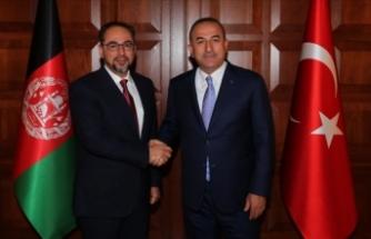 Çavuşoğlu Afgan mevkidaşı Rabbani ile görüştü