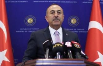 Çavuşoğlu'ndan son dakika S-400 ve yaptırım açıklaması